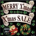 店舗看板シール ステッカー ラベル デコレーションシール 69052 サンタクロース クリスマス パーティー 発表会 雪だるま ウインターセール かわいい おしゃれ 低粘着 デカール( POP レストラン バー ショップ サインボード ブラックボード ホワイトボードに )