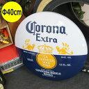 コロナビール エクストラ CORONA EXTRA ドーム型立体サインプレート 40cm ブリキ看板 壁掛け 壁飾り(男前 インテリア おしゃれ 雑貨 ティンサイン)