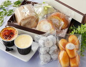 送料無料 お年賀 とろ〜り プリン ロールケーキ 焼き菓子の詰合せ-ROSE スイーツギフト 父の日ギフト