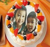写真ケーキ★お年賀★写真ケーキ4号サイズ フルーツたっぷり生クリーム バースデーケーキ デコレーション 誕生日ケーキ 4号 ホワイトデーギフト ホワイトデー2017  スイーツギフト