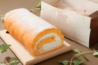 高級卵使用のロールケーキ、国産小麦使用でお子様でも安心してお召し上がりいただけます。ほん...