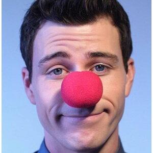 Олень клоун красный нос 2 шт костюм аксессуар унисекс косплей