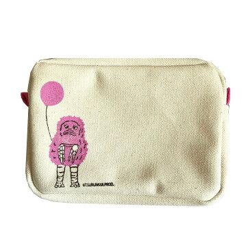 ポーチ ミニ 可愛い 小物入れ バッグインバッグ ペンケース マルチポーチ ピグモン 日本製 【送料無料】