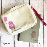 ポーチミニ可愛い小物入れバッグインバッグペンケースマルチポーチピグモン日本製【送料無料】