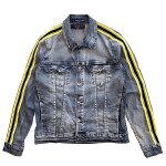 ハドソンアウトウェアーHUDSONOUTWEARデニムジャケットラインジージャンセットアップSTREETストリートアメリカブランド