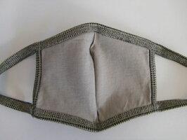 PUPULAププラLUXWARMGLENCHECKグレンチェックマスク701028レディースオシャレ上品高級可愛いコットン洗えるドレス日本製《ネコポス220》