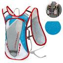 ランニング バック 5L RUNNINGバックパック  給水 ボトルケース マラソン リュック メンズ レディース 軽量タイプ