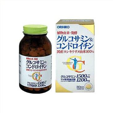 グルコサミンにコンドロイチン、さらにビタミンB1、ビタミンB6等を配合オリヒロ グルコサミン&コンドロイチン 360粒入