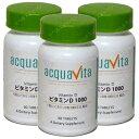 アクアヴィータ ビタミンD1000 60粒(アクアビータ・Acquavita)(3本セット) サプリメント 健康維持 サプリ 生活習慣 母の日 ギフト プレゼント 包装ラッピング可(有料)