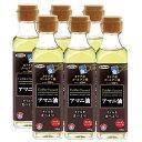 アマニ油 186g(6本セット) 日本製粉(ニップン) オメガ3脂肪酸 DHA EPA 亜麻仁油 えごま油を超える!? プレゼント 元気 スタミナ サプリ 健康食品 あまに アマニオイル 除菌梱包 包装ラッピング可(有料)