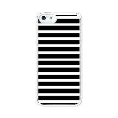 iPhone5 アイフォン5 ケース/カバー 【ブラックボーダー 白打クリア】iphone5 iPhone5 アイフォ...
