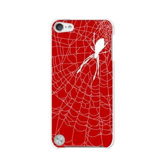 免運費的第5代iPod touch眼睛剥莢情况/覆蓋物Apple iPod touch5[Spider清除情况材料]專用