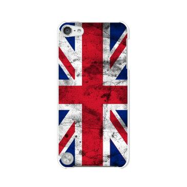 送料無料 第5世代 iPod touch Apple アイポッド ケース/カバー【Union Jack 無地白ハードケース】