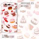 送料無料 MEDIAS ES N-05D ケース/カバー 【スィーツ クリアケース素材】