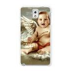 送料無料 Galaxy Note3 SCL22 ケース/カバー 【Baby Angel クリアケース素材】ギャラクシー Note3 ノート3 SCL22 ジャケット GALAXY