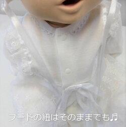 ベビードレスセレモニードレス女の子男の子2wayドレスドレスフード2点セットベビー服結婚式お宮参り衣装出産祝いギフト新生児赤ちゃんオールシーズン