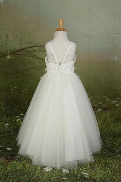 ef02f3c28f40b ... 子供ドレスピアノ発表会フラワーガールサイズオーダーロングキッズドレス結婚式誕生会