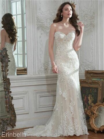 ウェディングドレス マーメイドライン マーメイド ロングドレス TW1657