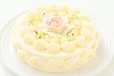 バタークリームケーキ5号/バターケーキ/お祝い/誕生日/売れ筋/おすすめ/エリヤ洋菓子店