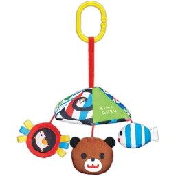 しましまぐるぐる おでかけにこにこメリーおもちゃ こども 子供 知育 勉強 ベビー 0歳