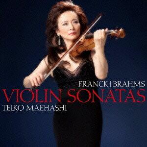前橋汀子/フランク&ブラームス:ヴァイオリン・ソナタ 【CD】