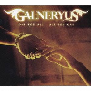 Galneryus/ONE FOR ALL-ALL FOR ONE 【CD】