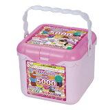 アクアビーズ AQ-S77 5000ビーズキラキラバケツセットおもちゃ こども 子供 女の子 ままごと ごっこ 作る 6歳