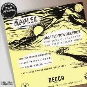 ブルーノ・ワルター/マーラー:交響曲≪大地の歌≫ リュッケルトの詩による3つの歌曲 【CD】