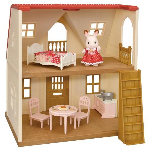 シルバニアファミリー DH-07はじめてのシルバニアファミリーおもちゃ こども 子供 女の子 人形遊び 3歳