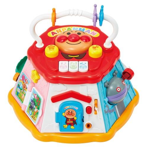アンパンマンおおきなよくばりボックスおもちゃこども子供知育勉強ベビー0歳8ヶ月