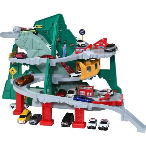 トミカトンネルくぐって やまのぼりドライブおもちゃこども子供男の子ミニカー車くるま