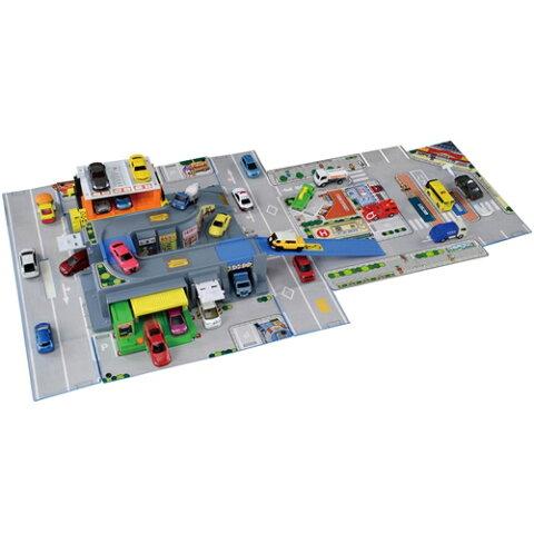 【送料無料】トミカ とびだす!おかたづけ立体マップ おもちゃ こども 子供 男の子 ミニカー 車 くるま 3歳