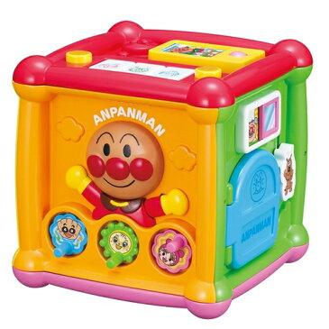 アンパンマン よくばりキューブ おもちゃ こども 子供 知育 勉強 ベビー クリスマス プレゼント 0歳10ヶ月