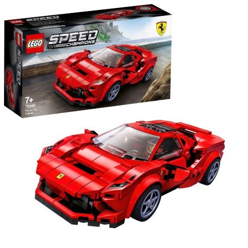 LEGOスピードチャンピオンフェラーリF8トリビュート76895おもちゃこども子供レゴブロック7歳