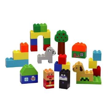 ブロックラボ ファーストシリーズ はじめてのブロックバケツ おもちゃ こども 子供 知育 勉強 1歳6ヶ月 アンパンマン