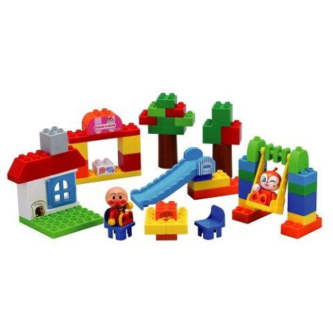 ブロックラボ ワールドシリーズ たのしいアンパンマンタウンバケツ おもちゃ こども 子供 知育 勉強 3歳