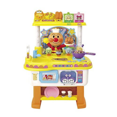アンパンマンいっしょにトントンアンパンマンのお料理ショーおもちゃこども子供知育勉強3歳