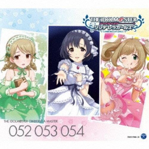 ゲームミュージック, その他  THE IDOLMSTER CINDERELLA MASTER 052 053 054 CD