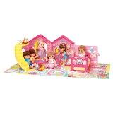 メルちゃん かいだんつきの なかよしハウスおもちゃ こども 子供 女の子 人形遊び ハウス 3歳