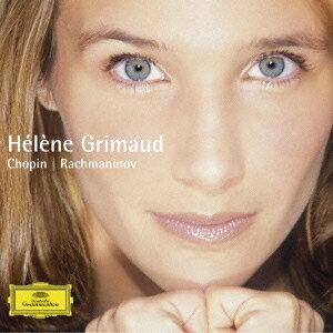 エレーヌ・グリモー/ラフマニノフ&ショパン:ピアノ・ソナタ 第2番 ショパン:子守歌、舟歌 【CD】