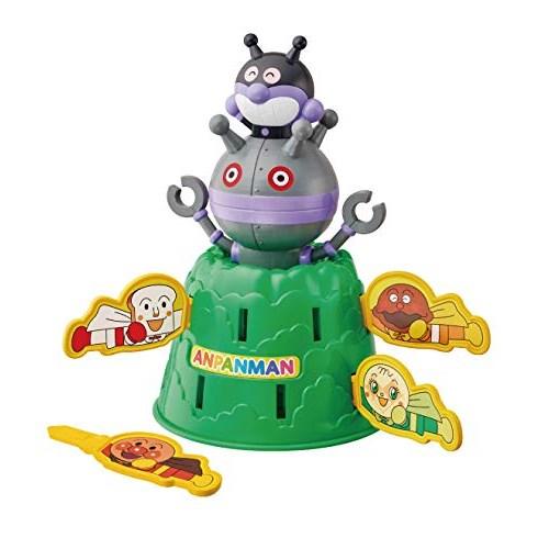 アンパンマンばいきんまんとだだんだんドキドキアンパンチ おもちゃこども子供知育勉強3歳