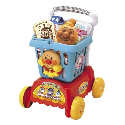 アンパンマンいっしょにおかいもの アンパンマンショッピングカートおもちゃこども子供女の子ままごとごっこ3歳