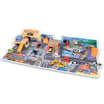 トミカタウン かんたんおかたづけ!にぎやかサウンドタウン おもちゃ こども 子供 男の子 ミニカー 車 くるま 3歳
