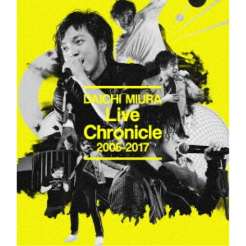 三浦大知/Live Chronicle 2005-2017 【Blu-ray】