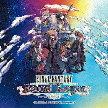 (ゲーム・ミュージック)/FINAL FANTASY Record Keeper オリジナル・サウンドトラック vol.3 【CD】