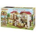 シルバニアファミリー ハ-48 赤い屋根の大きなお家 おもち...