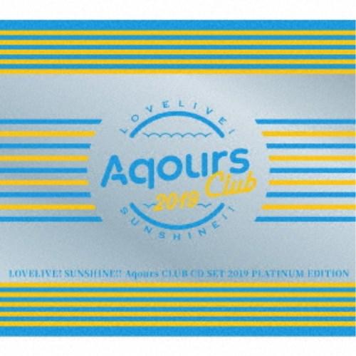 アニメソング, その他 Aqours Aqours CLUB CD SET 2019 PLATINUM EDITION () CDDVD