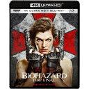 バイオハザード:ザ・ファイナル UltraHD (初回限定) 【Blu-ray】の画像