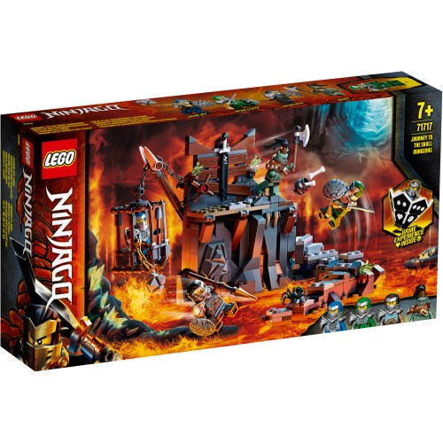 LEGOレゴニンジャゴー挑め 魔界ダンジョンの道71717おもちゃこども子供レゴブロック7歳