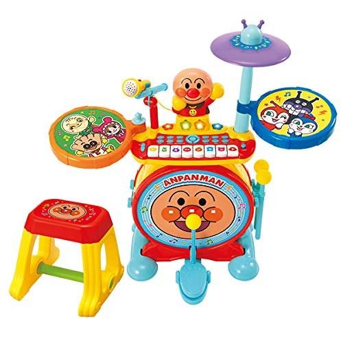アンパンマンノリノリライブ BIG電子ドラム&キーボードおもちゃこども子供知育勉強3歳